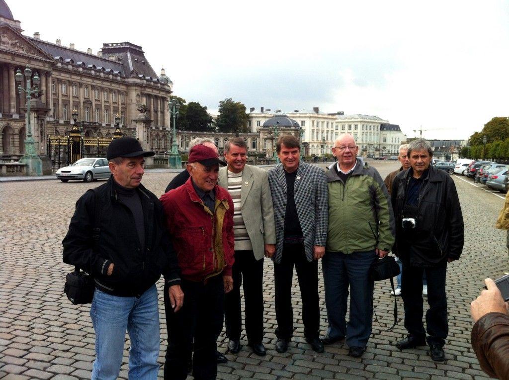WTC podczas wycieczki do Brukseli.
