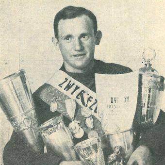 Feliks Więcek – zwycięzca I-Biegu Dookoła Polski.