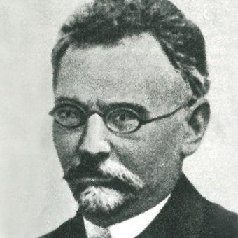 Piąty z kolei honorowy członek WTC Bolesław Prus.